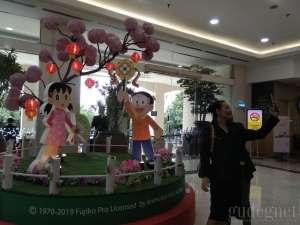 Meriahkan Tahun Baru Imlek, Amplaz Hadirkan Doraemon
