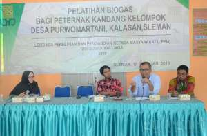 UIN Sunan Kalijaga Adakan Pelatihan Biogas di Desa Purwomartani