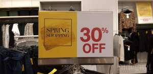 Diskon Gokil, Beli Baju di H&M Cukup 70 ribu Saja