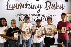 Silvagama UGM Luncurkan Buku Jokowi Travelling Story Kerinci 1983