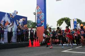 Ribuan Pelari Ikuti Jogja Mandiri Marathon 2019 di Candi Prambanan