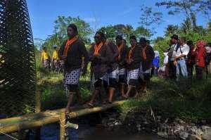 Merti Kali Kuning Lestarikan Sungai Dusun Brayut