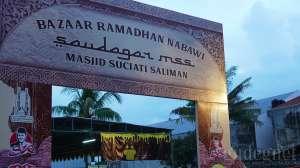 Ramaikan Bulan Puasa, Masjid Suciati Saliman adakan 'Bazaar Ramadhan Nabawi'