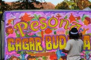 Kemendikbud RI Gelar Pertunjukan Mural di Titik Nol Yogyakarta