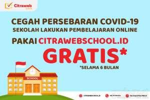 Ikut Batasi Sebaran COVID-19, Citraweb Gratiskan Citraweb School