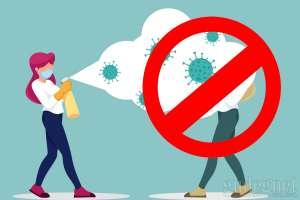 Dilarang Menyemprotkan Disinfektan ke Tubuh