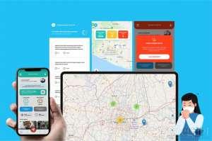 Cared+, Aplikasi Monitoring Penyebaran Covid-19