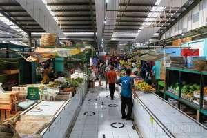 Pasar Kranggan Mulai Beroperasi dengan Protokol Kesehatan Ketat
