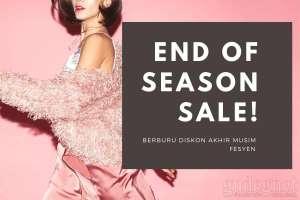Akhir Musim, Diskon Fesyen Habis-habisan di Mal