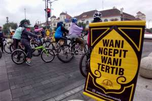 Jogja Santun Bersepeda, Edukasi Pesepeda agar Tertib di Jalan Raya