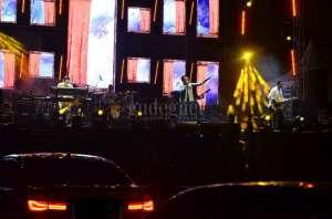 Jikustik Meriahkan Jogja Drive-In Concert, Tepuk Tangan Berganti Klakson
