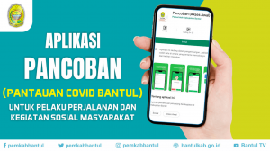 Pancoban, Aplikasi Pantauan Covid-19 Bantul
