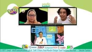 SD Tumbuh Gelar 'Talk Share: Anak Mandiri Belajar saat Pandemi. Bisa kok!'
