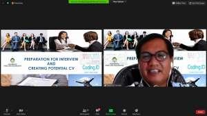 UAJY Gelar Webinar 'Strategi Sukses Lolos Interview dan Psikotes'
