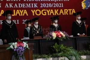 Gelar Wisuda Daring, UAJY Luluskan 494 Mahasiswa