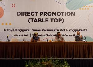 Tingkatkan Promosi Pariwisata, Pemkot Gelar Table Top di Cirebon