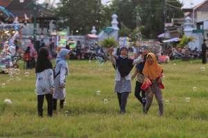 Serunya Ngabuburit di Alun-alun Selatan Keraton Yogyakarta