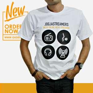 Kaos Jogjastreamers Putih